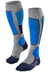 FALKE SK 2 - Snowboard Socken für Herren - Grau