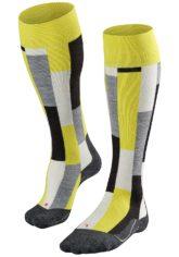 FALKE SK 4 Brick - Snowboard Socken für Herren - Gelb