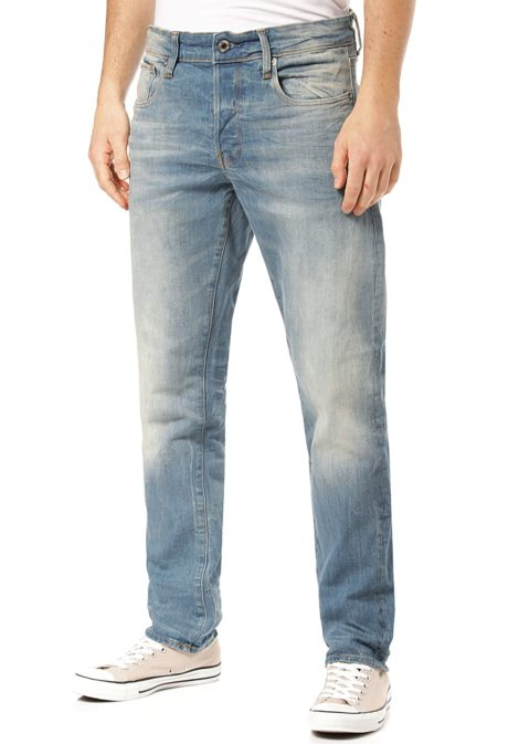 G-STAR RAW 3301 Straight Tapered Cyclo Stretch - Jeans für Herren - Blau