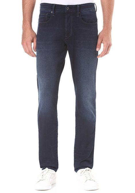G-STAR RAW 3301 Straight Tapered-Slander Indigo R Superstretch - Jeans für Herren - Blau
