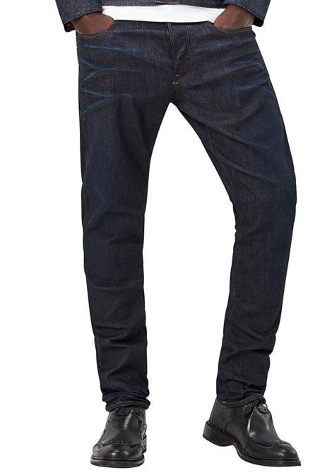 G-STAR RAW 3301 Straight Tapered-Visor Stretch - Jeans für Herren - Blau