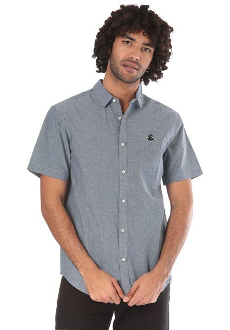 Iriedaily Chillboy - Hemd für Herren - Blau