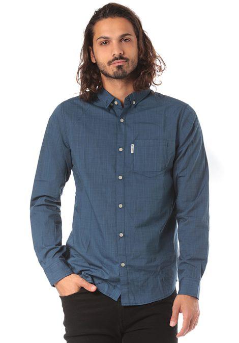 Iriedaily Irie City L/S - Hemd für Herren - Blau
