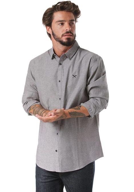 Iriedaily Samuel - Hemd für Herren - Grau