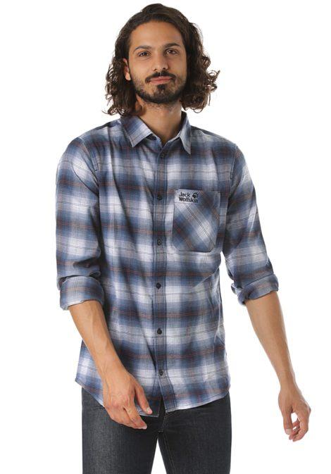 Jack Wolfskin Light Valley - Hemd für Herren - Blau