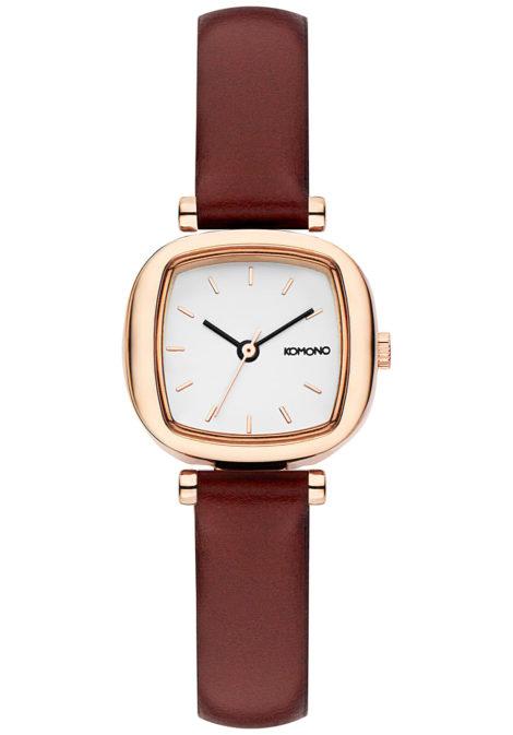 Komono Moneypenny - Uhr für Damen - Rot