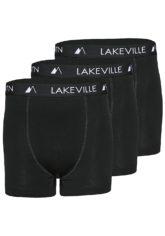 Lakeville Mountain Boxer Briefs 3Pack - Unterwäsche für Herren - Schwarz