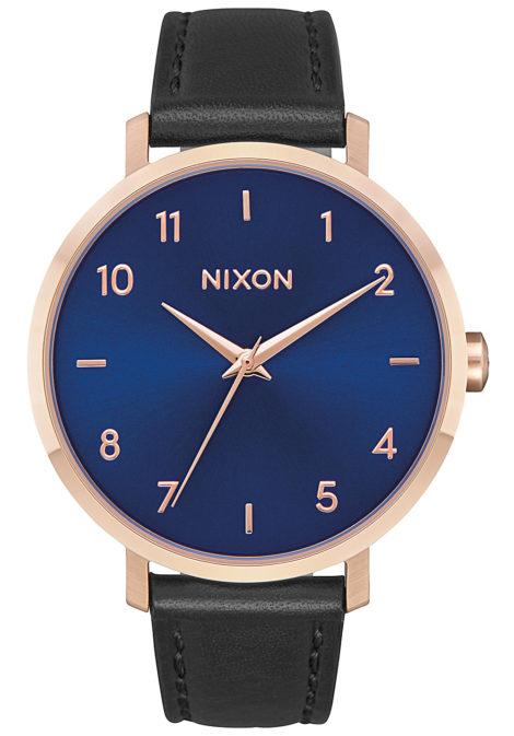 NIXON Arrow Lthr - Uhr für Damen - Blau