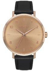 NIXON Arrow Lthr - Uhr für Damen - Gold
