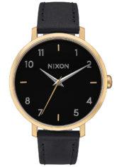 NIXON Arrow Lthr - Uhr für Damen - Schwarz