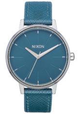 NIXON Kensington Lthr - Uhr für Damen - Blau