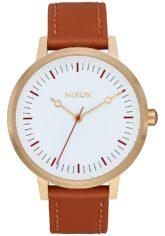 NIXON Kensington Lthr - Uhr für Damen - Braun