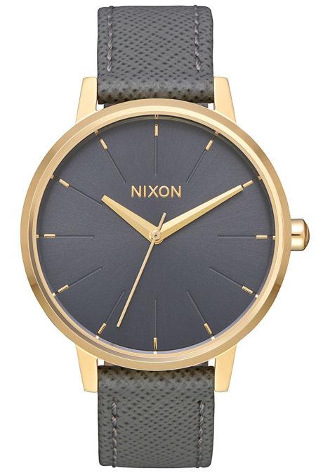 NIXON Kensington Lthr - Uhr für Damen - Grau