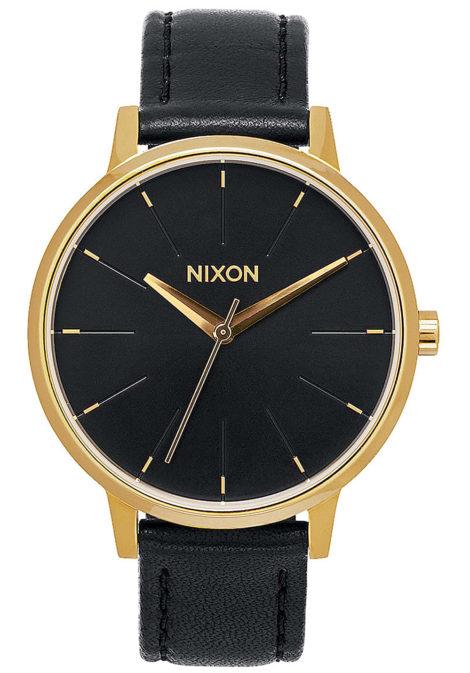 NIXON Kensington Lthr - Uhr für Damen - Schwarz