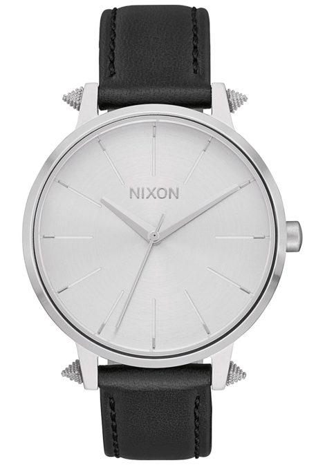 NIXON Kensington Lthr - Uhr für Damen - Silber