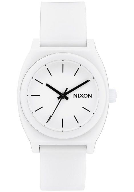 NIXON Medium Time Teller P - Uhr für Damen - Weiß