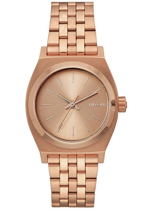 NIXON Medium Time Teller - Uhr für Damen - Gold
