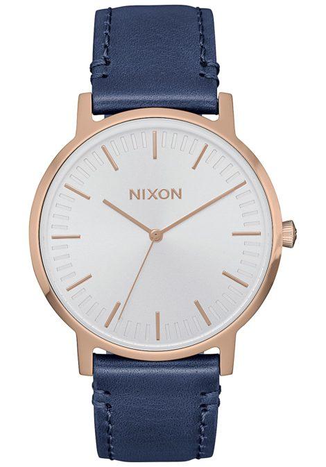 NIXON Porter 35 Lthr - Uhr für Damen - Weiß
