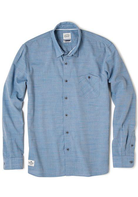 OXBOW Cavallet - Hemd für Herren - Blau