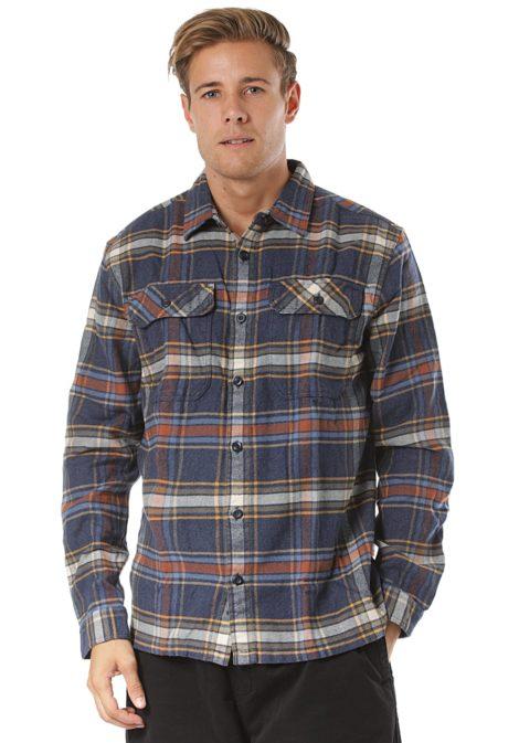 Patagonia Fjord Flannel L/S - Hemd für Herren - Blau