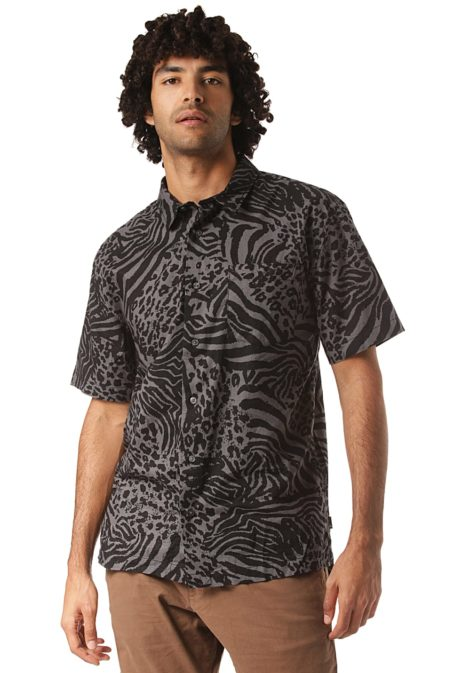 Quiksilver Lifes Quik - Hemd für Herren - Grau