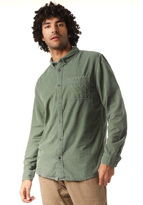 Quiksilver Smoketrail - Hemd für Herren - Grün