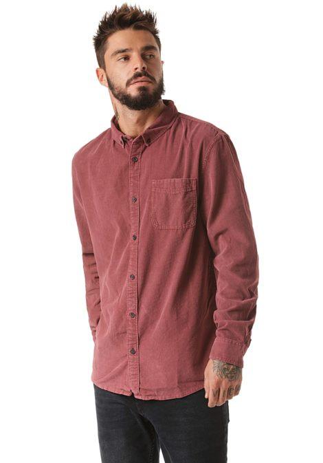 Quiksilver Smoketrail - Hemd für Herren - Rot