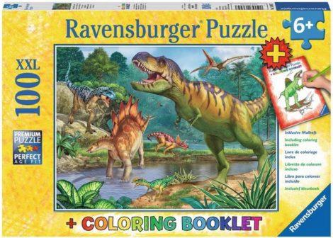 "Ravensburger Puzzle ""Welt der Dinosaurier"", 100 Puzzleteile, Made in Germany"