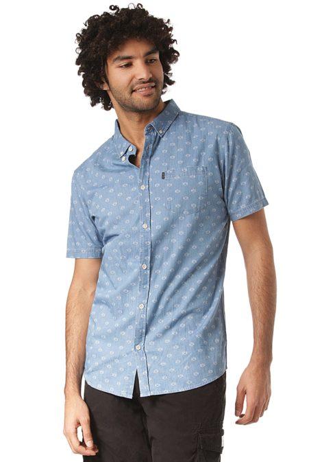 Rip Curl Rhombees S/S - Hemd für Herren - Blau