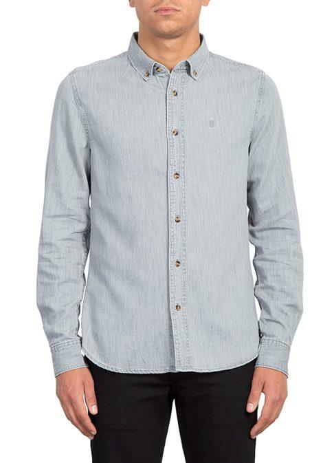 Volcom Bayond L/S - Hemd für Herren - Grau