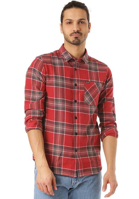 Volcom Caden Plaid L/S - Hemd für Herren - Karo