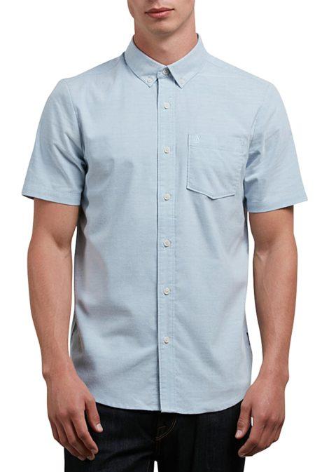 Volcom Everett Oxford S/S - Hemd für Herren - Blau
