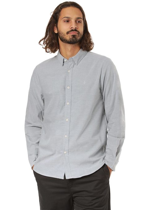 Volcom Oxford Stretch - Hemd für Herren - Blau