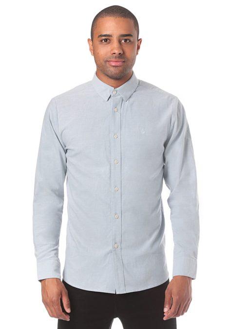 Volcom Oxford Stretch L/S - Hemd für Herren - Blau