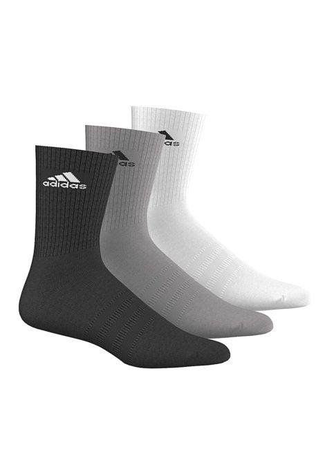 adidas Originals 3 Performance Crew Socken - Schwarz
