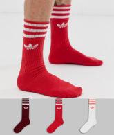 adidas Originals - Bunte Socken im 3er-Pack-Mehrfarbig