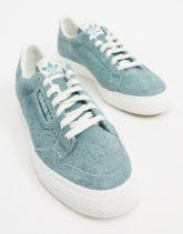 adidas Originals - Continental Vulc - Sneaker in Grün-Weiß