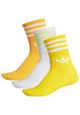 adidas Originals Mid Cut Crew Socken - Gelb