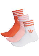 adidas Originals Mid Cut Crew Socken - Mehrfarbig