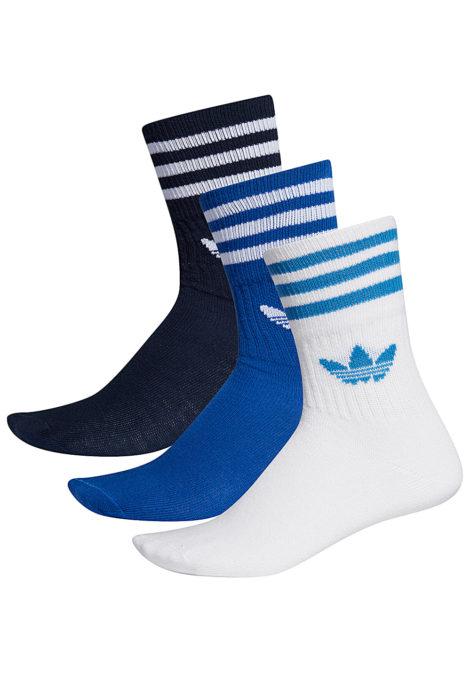adidas Originals Mid Cut Crew Socken - Schwarz