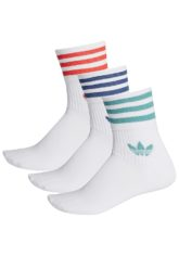 adidas Originals Mid Cut Crew Socken - Weiß