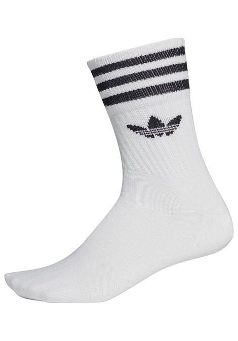 adidas Originals Mid Cut Crew Socken - Weiß