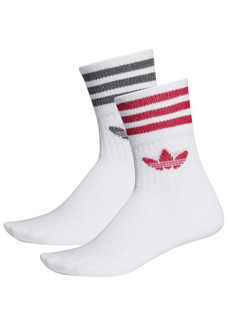 adidas Originals Mid Cut Glt Socken - Weiß