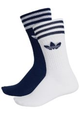 adidas Originals Solid Crew 2 Pack Socken - Blau