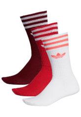 adidas Originals Solid Crew Socken - Rot