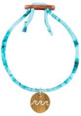 float Amulet Lycra Wave - Armband für Damen - Blau