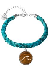 float Bracelet Braided Wave - Armband für Damen - Blau