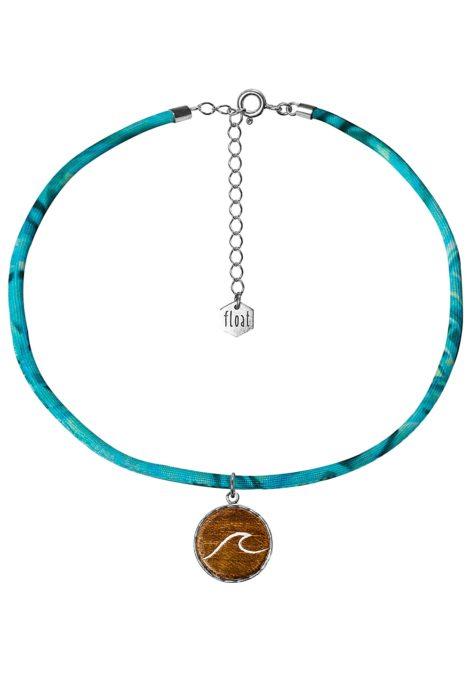 float Choker Lycra Wave - Halskette für Damen - Blau