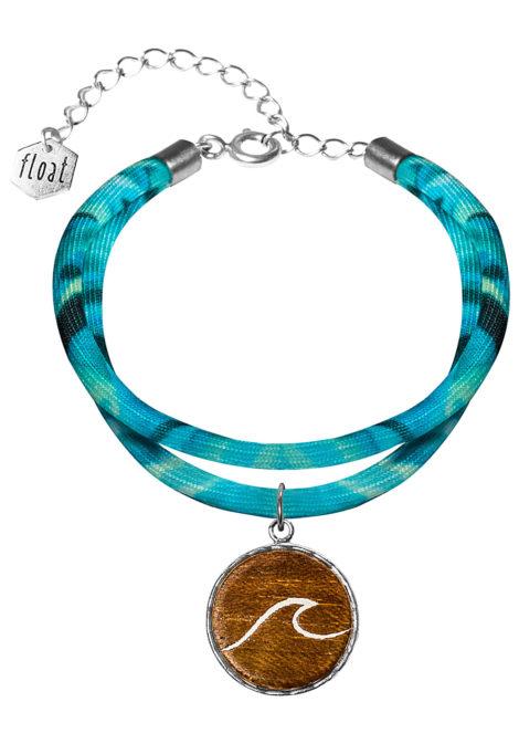 float Lycra Double Wave - Armband für Damen - Blau