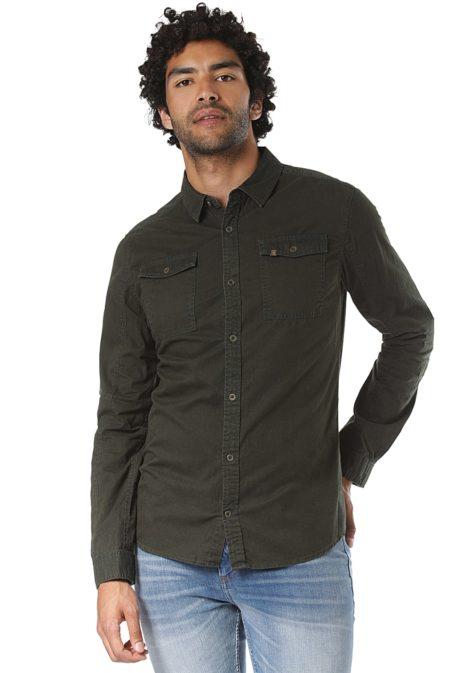 ragwear Alrik - Hemd für Herren - Grün
